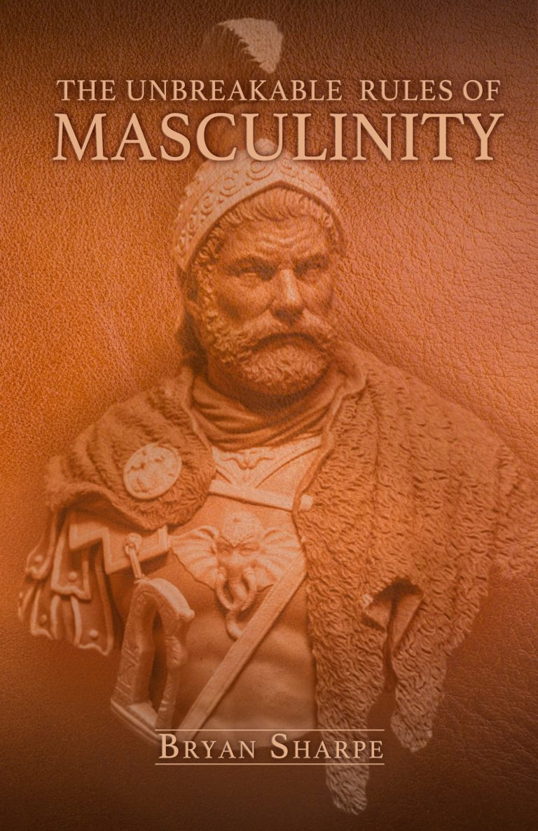 Rules for masculinity cover by Bryan Sharpe