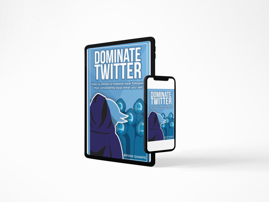 Dominate Twitter Mobile Device Mocks